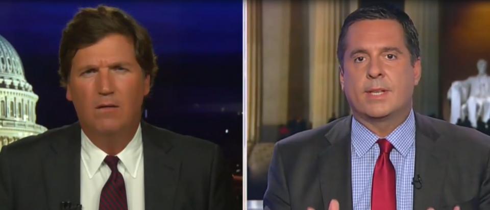 Devin Nunes on Democrats and impeachment (Fox News screengrab)
