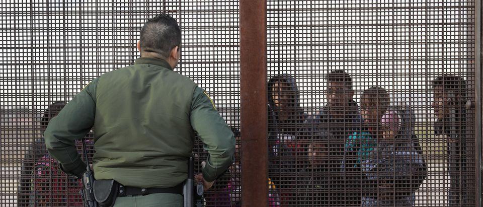 U.S. Customs And Border Patrol Agents Patrol Border In El Paso, TX