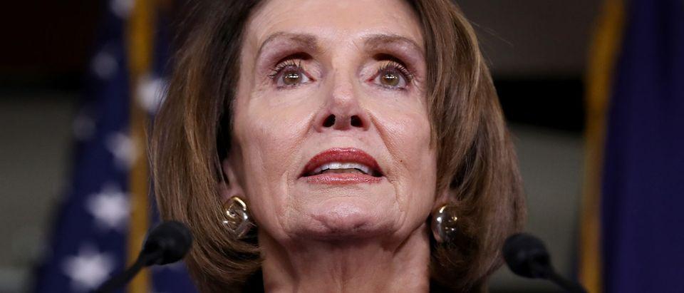 Speaker Pelosi And Senate Democratic Leader Sen. Schumer Speak On Capitol Hill After President Trump Speaks On Mueller Report