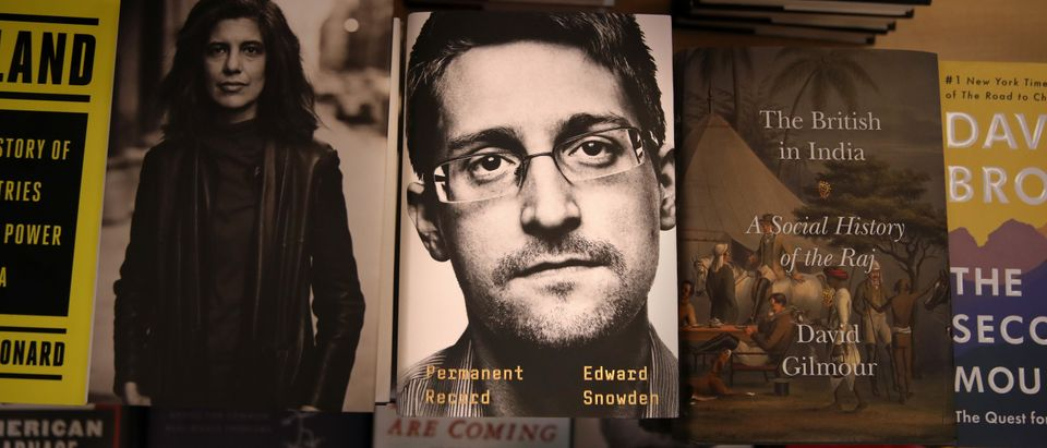 "Justice Department Files Lawsuit Over Edward Snowden's New Book ""Permanent Record"""
