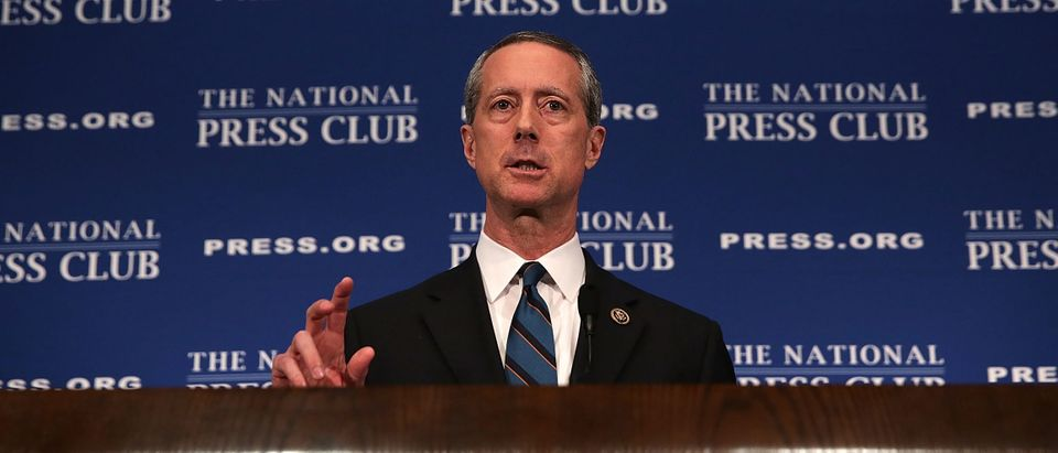 House Armed Services Chairman Mac Thornberry (R-TX) Holds News Conference At Nat'l Press Club
