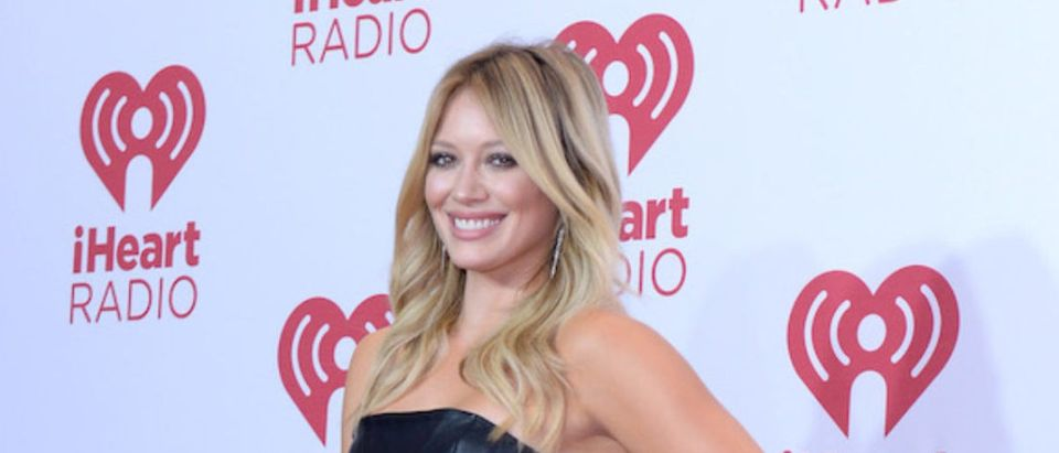 Actress Hilary Duff attends the 2014 iHeartRadio Music Festival at the MGM Grand Garden Arena on September 20, 2014 in Las Vegas, Nevada. (Photo by Bryan Steffy/Getty Images for iHeartMedia)