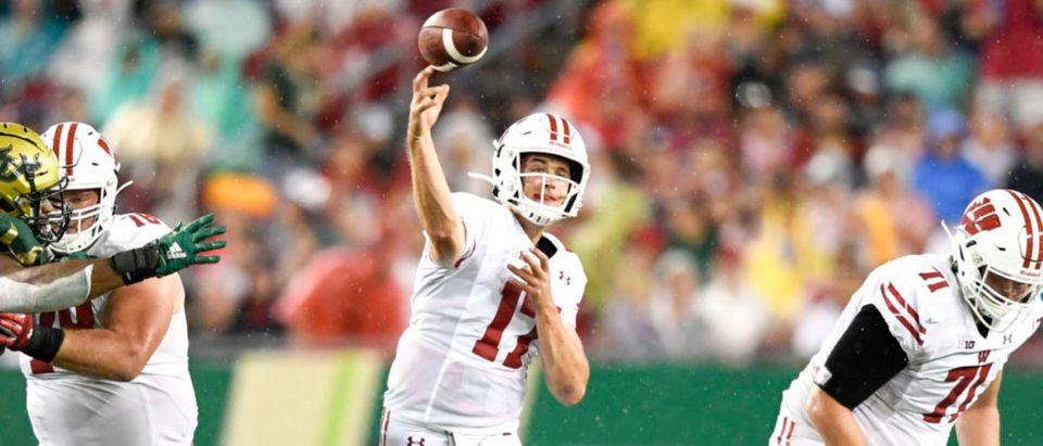 NCAA Football: Wisconsin at South Florida