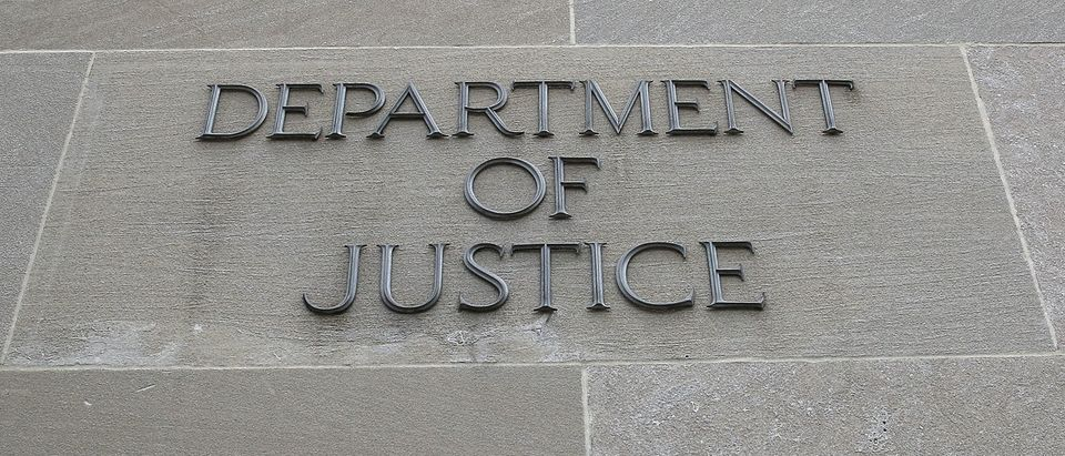 WASHINGTON, DC - JANUARY 28: The Department of Justice is seen on January 28, 2019 in Washington, DC. Last Friday President Donald Trump signed a temporary measure to reopen the U.S. government after it was partially shut down for 35 days as the president and congressional Democrats could not come to a bipartisan solution for more money to build a wall along the U.S.-Mexico border. (Photo by Mark Wilson/Getty Images)