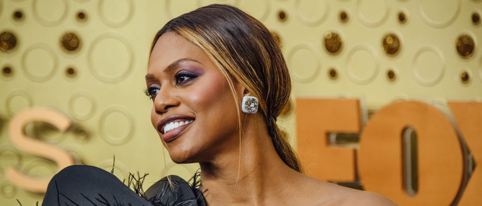 Laverne Cox arrives at the 71st Emmy Awards at Microsoft Theater in Los Angeles on September 22, 2019. (Emma McIntyre/Getty Images)