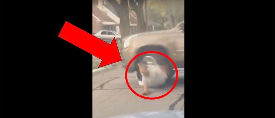 SUV Video (Credit: Screenshot/LiveLeak Video https://www.liveleak.com/view?t=aqRFD_1569140660)