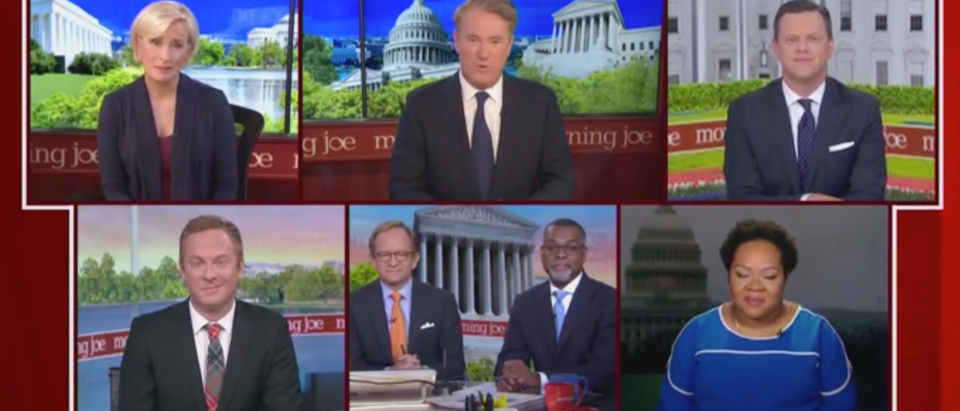 """Morning Joe"" recaps the third Democratic primary debate. Screen Shot/MSNBC"