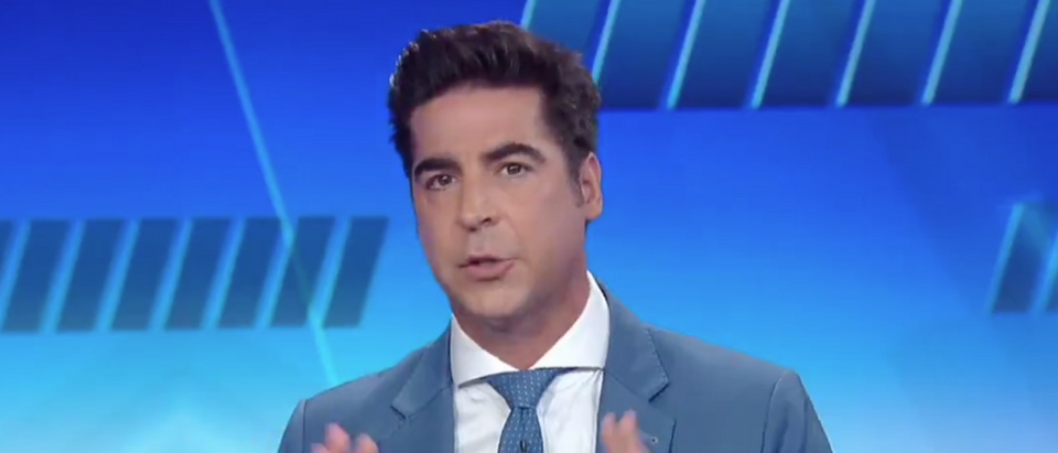 """Jesse Watters discusses potential impeachment on """"The Five."""" Screen Shot/Fox News"""