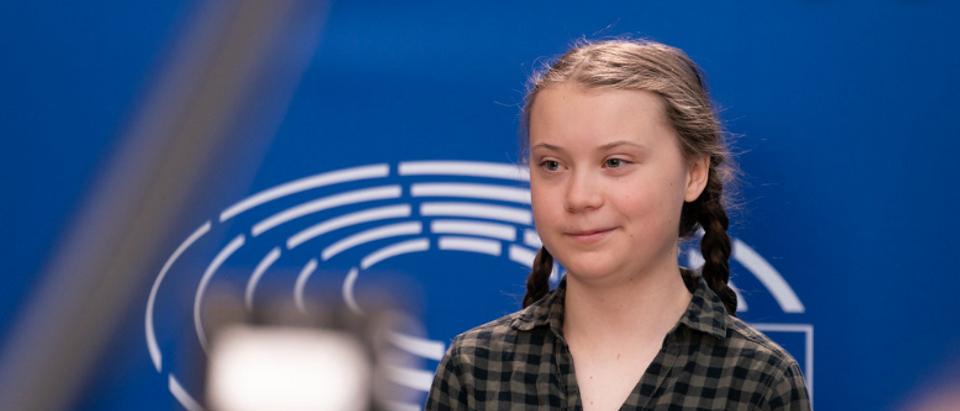 Greta Thunberg is pictured. (YouTube Screenshot)