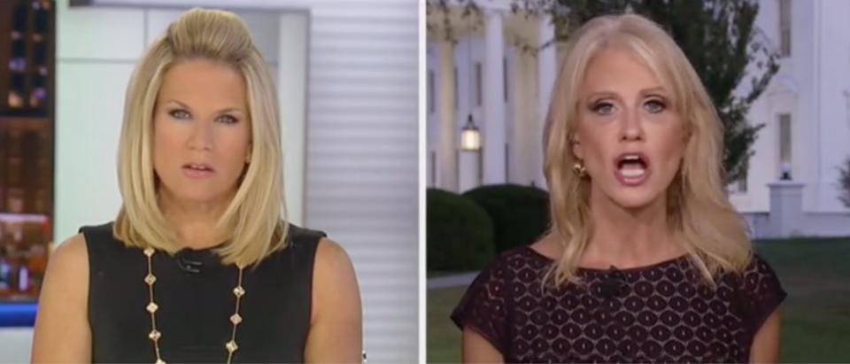 Kellyanne Conway responds to call between Trump and Ukrainian President Volodymyr Zelensky. Screen Shot/Fox News