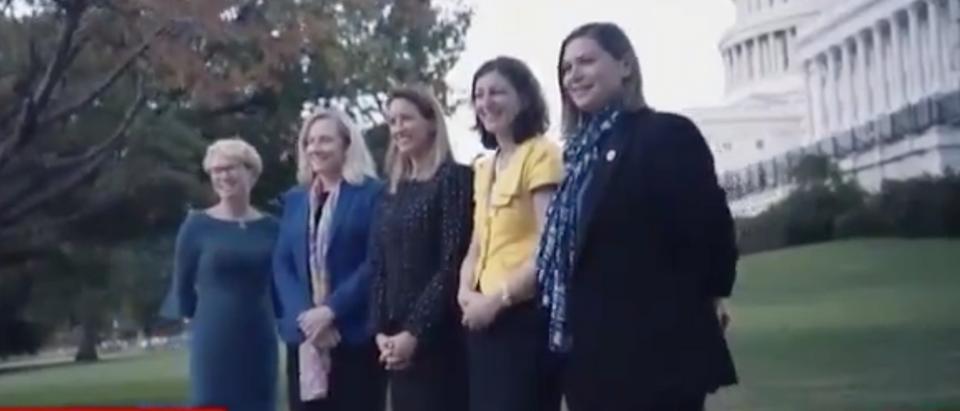 CNN highlights five freshman congresswomen who tipped the scales on impeachment. Screen Shot/CNN