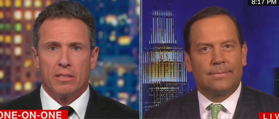 Steve Cortez debates Chris Cuomo on immigration (CNN screengrab)