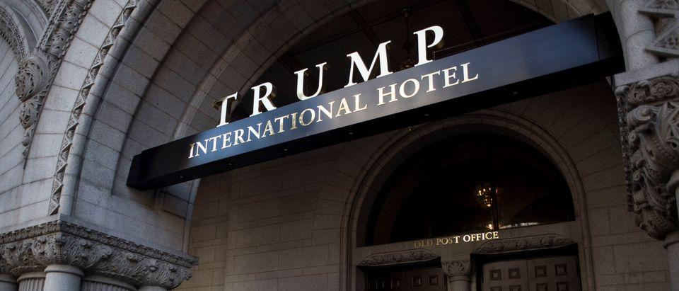 The Trump International Hotel in Washington, D.C. on October 26, 2016. (Gabriella Demczuk/Getty Images)