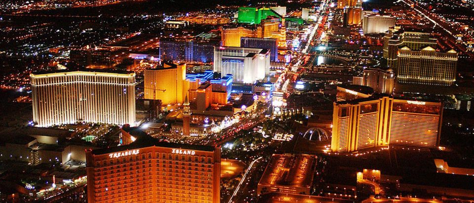 Las Vegas Boulevard Aerial Views