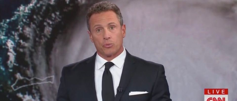 Chris Cuomo is pictured. Screenshot/CNN