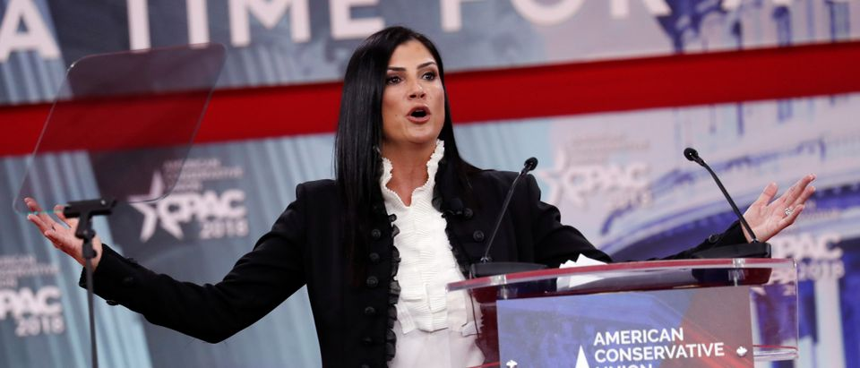 Dana Loesch speaks at the Conservative Political Action Conference (CPAC) at National Harbor, Maryland, U.S., February 22, 2018. REUTERS/Kevin Lamarque