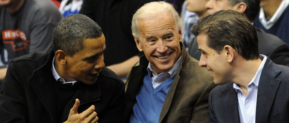 Barack Obama, Joe Biden, Hunter Biden