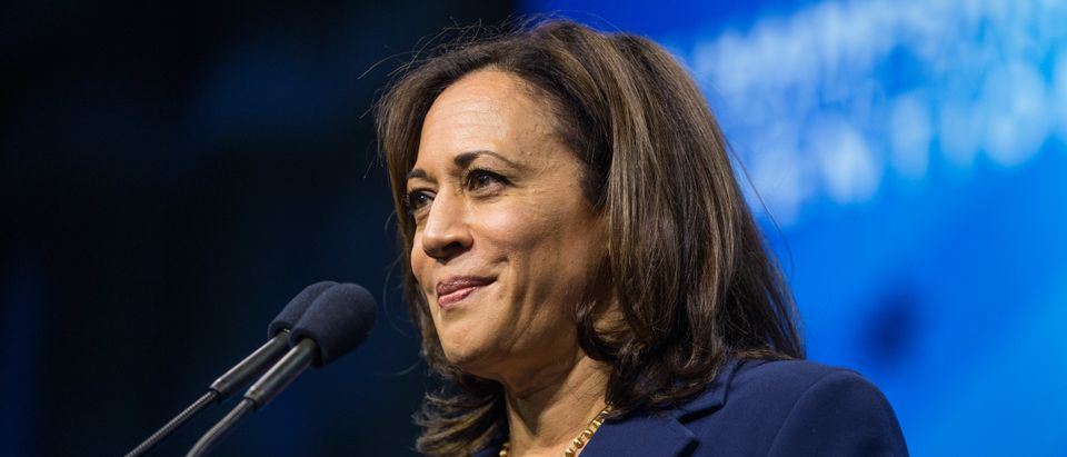 Democratic presidential candidate and California Sen. Kamala Harris (Scott Eisen/Getty Images)