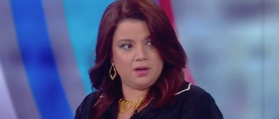 "Ana Navarro appears on ABC's ""The View."" Screen Shot/ABC"