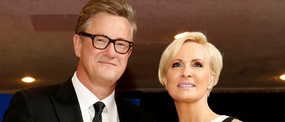 MSNBC's Joe Scarborough and Mika Brzezinski arrive for the annual White House Correspondents' Association dinner in Washington, U.S. on April 25, 2015. REUTERS/Jonathan Ernst/File Photo