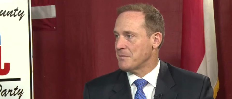 North Carolina Rep. Ted Budd is pictured. (Screenshot/YouTube/WFMY News 2)