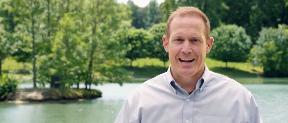 Republican North Carolina Rep. Ted Budd is pictured. (Screenshot/YouTube)