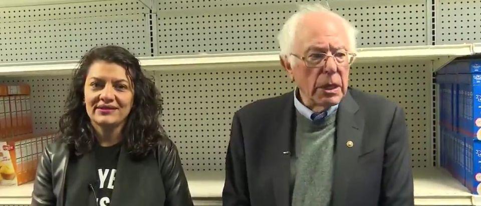 Bernie Sanders and Rashida Tlaib