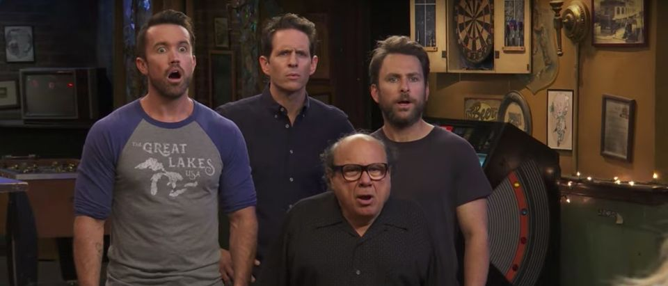 It's Always Sunny In Philadelphia (Credit: Screenshot/YouTube https://www.youtube.com/watch?v=gZwW7PSQ318)