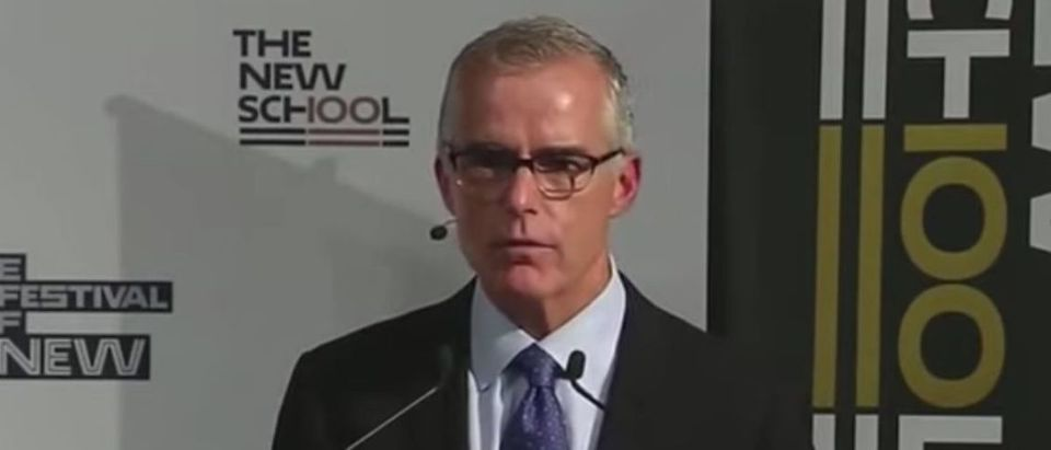 Andrew McCabe on Oct. 3, 2019. (YouTube screen capture/CSPAN)