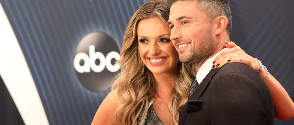Country Music Association Awards - Arrivals - Nashville, Tennessee, U.S., 14/11/2018 - Carly Pearce and Michael Ray. REUTERS/Jamie Gilliam