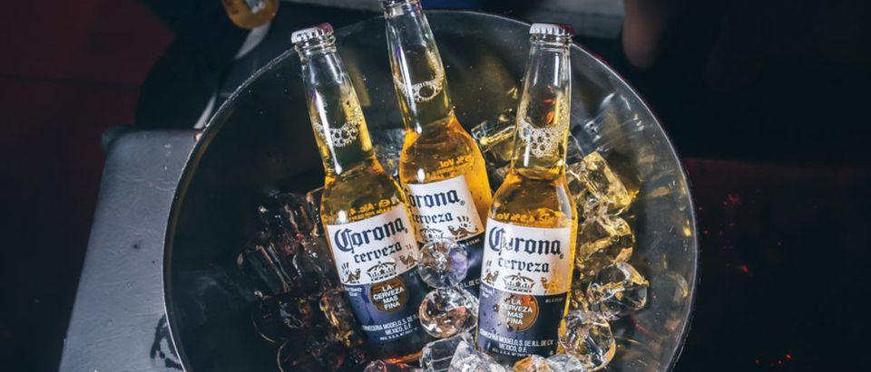 Corona Seltzer (Credit: Shutterstock/ShinoStock)