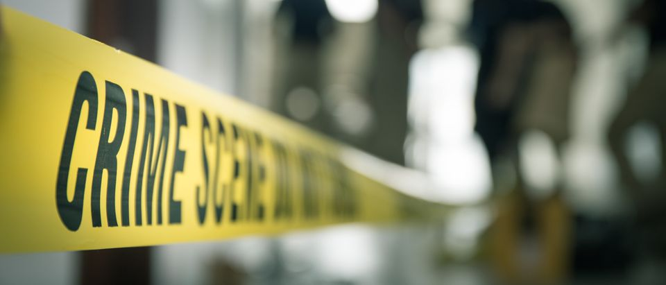 Crime Scene. Shutterstock