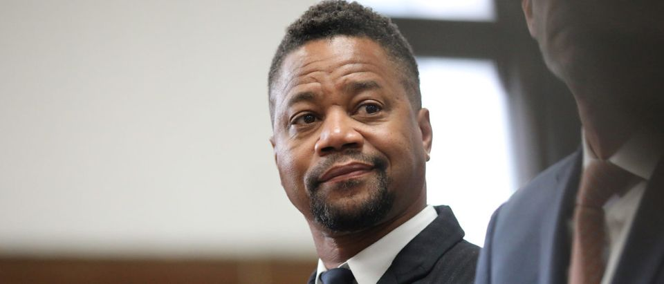 Actor Cuba Gooding Jr. appears in New York State Criminal Court in the Manhattan borough of New York