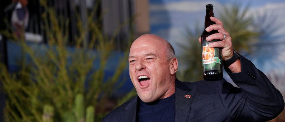 "Actor Dean Norris poses at the premiere for ""El Camino: A Breaking Bad Movie"" in Los Angeles, California, U.S., October 7, 2019. REUTERS/Mario Anzuoni"