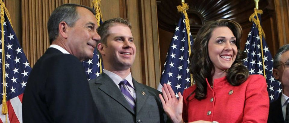 Ceremonial Swearing-In Held For New Congress Members