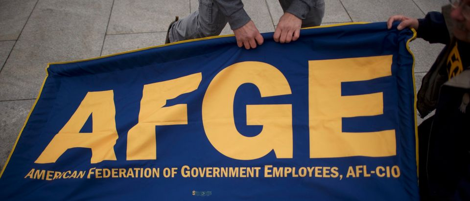 Federal Employees Hold Rally Calling For End Of Government Shutdown