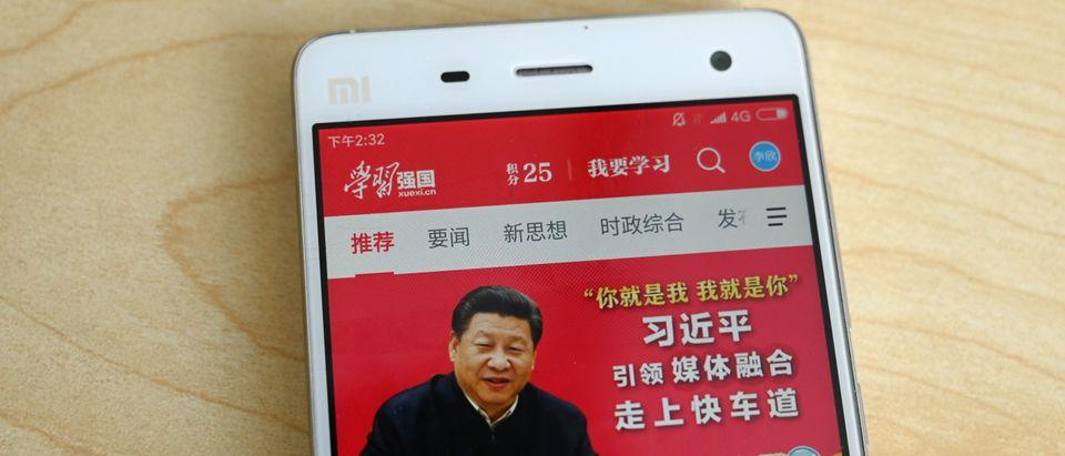 CHINA-POLITICS-INTERNET