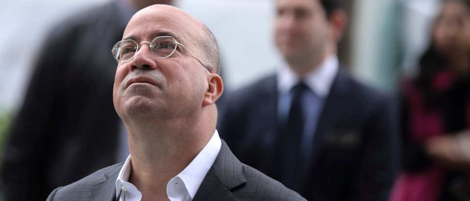 NEW YORK, NY - MARCH 15: President of CNN Jeff Zucker attends the grand opening of phase one of the Hudson Yards development on the West Side of Midtown Manhattan, March 15, 2019 in New York City. Four towers, including residential, commercial, and retail space, and a large public art sculpture made up of 155 flights of stairs, called 'The Vessel,' will open to the public. The developer of the project, Related Companies, calls it the most expensive endeavor in the city since Rockefeller Center. (Photo by Drew Angerer/Getty Images)