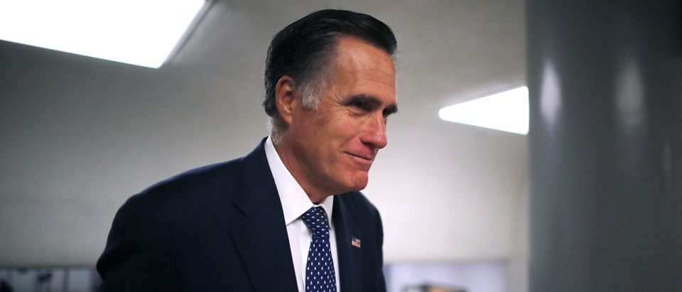 Sen. Mitt Romney took issue with President Trump's claim that asking Ukraine and China to investigate the Biden's was only about corruption.