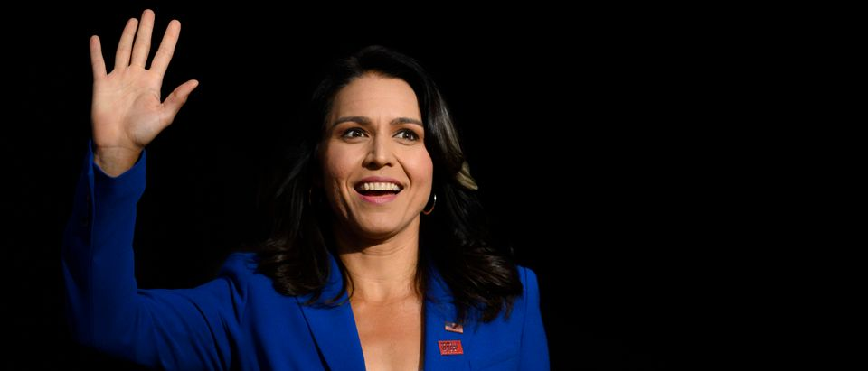 Tulsi Gabbard calls on Hillary Clinton to acknowledge the damage that her foreign policy has caused.