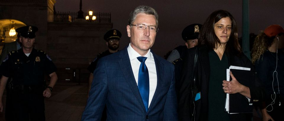 Former Special Envoy To Ukraine Kurt Volker Appears For Deposition In Impeachment Inquiry