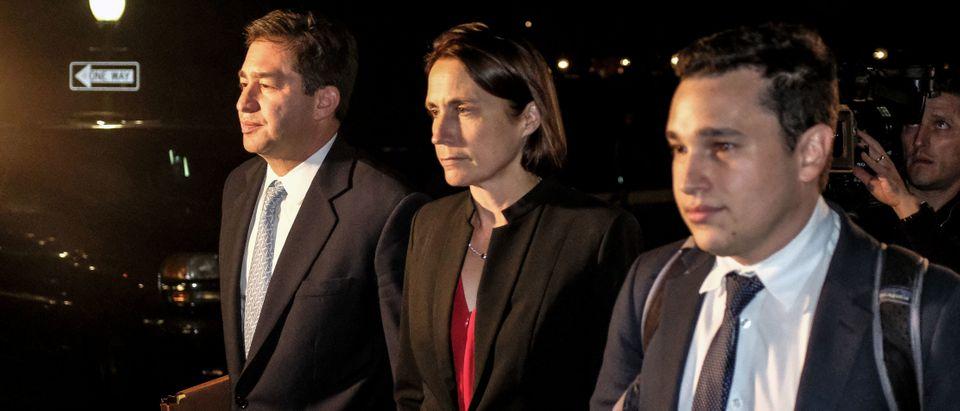 Former Trump Russia Advisor Fiona Hill Testifies Before House On Ukraine Inquiry
