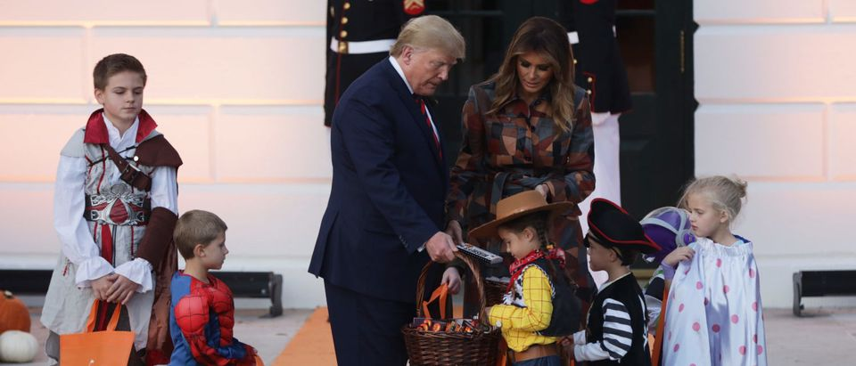 President Trump And First Lady Melania Host Halloween Event At The White House