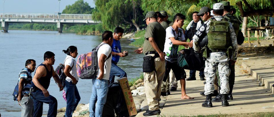 Mexico's National Guard patrols southern border with Guatemala