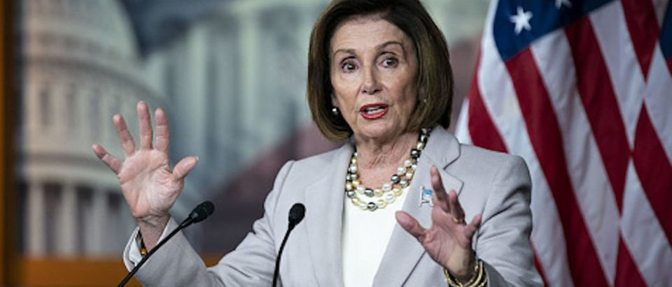 House Speaker Nancy Pelosi, a Democrat from California, speaks during a news conference on Capitol Hill in Washington, D.C., U.S. on Thursday, Oct. 17, 2019
