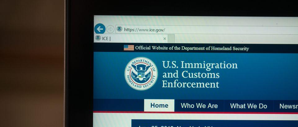 ICE Website. Shutterstock