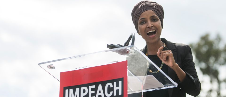 Progressive Democrats of America Rally For Impeachment Outside The Capitol Building