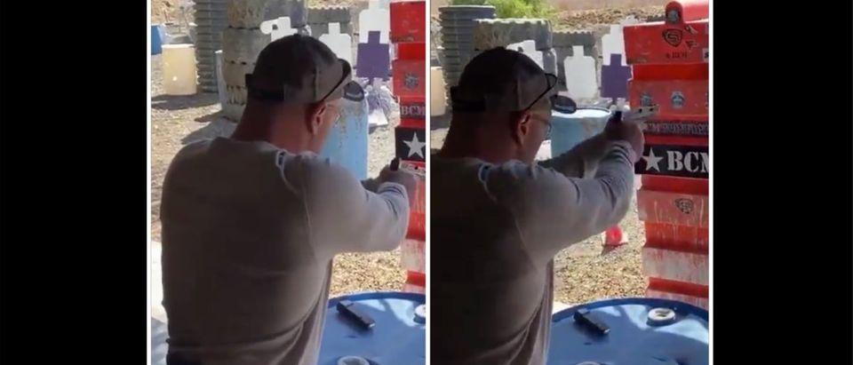 Joe Rogan (Credit: Screenshot/Twitter Video https://twitter.com/tarantactical/status/1179837679095013376?s=21)