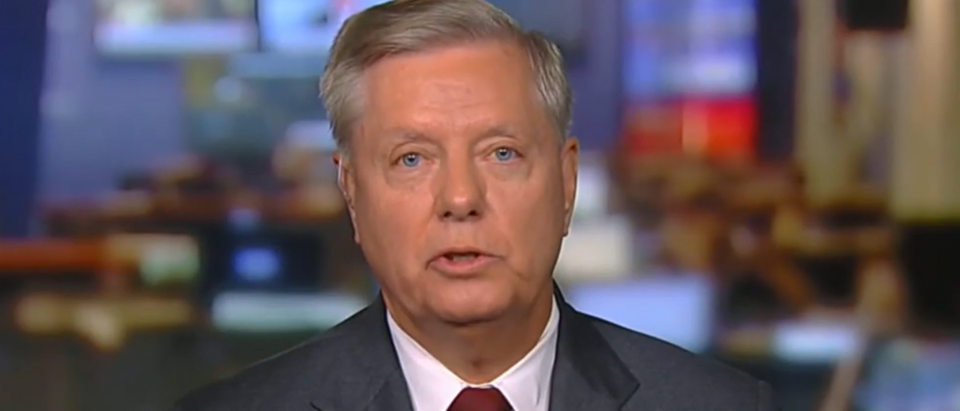 Lindsey Graham says no votes in Senate for Trump removal (Fox News screengrab)