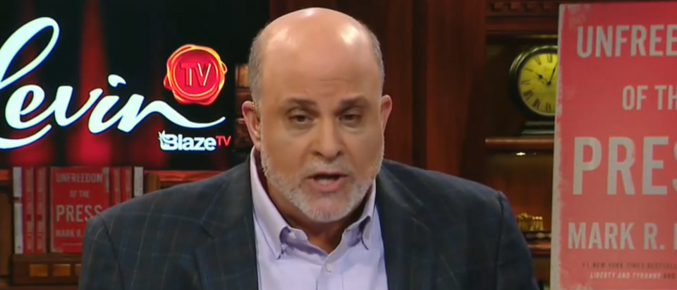 Mark Levin said Senate should launch nuclear option (Fox News screengrab)